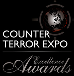 Counter Terror Expo Excellence award