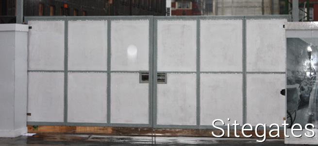 Modular perimeter security for construction sites: Sitegates