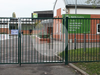 school and office perimeter security
